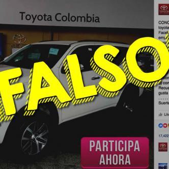 Una página de Facebook se camufló muy bien para engañar a miles de usuarios de Facebook en Colombia. El concurso es completamente falso. | ALDÍA.CO