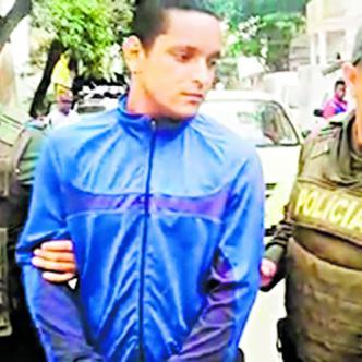 Brandon Alberto Barrios Urbina, capturado por el homicidio de su hermano en Venezuela.