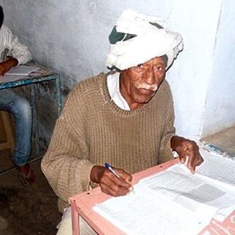 Este año Charan Yadav dice haber estudiado con algunos profesores de escuela para superar la prueba | Foto: UsaToday