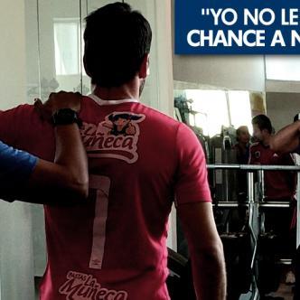 El guardameta uruguayo Sebastián Viera, capitán del Junior, se recupera de una lesión del hombro y rodilla para poder jugar el sábado ante Medellín. | Foto: Alfredo Ariza