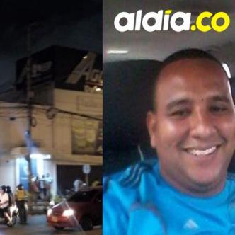 Javier Alberto Julio Peña, vigilante asesinado.