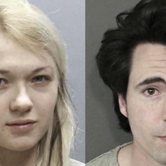 Marina Lonina y su novio Raymond Gates de 18 y 29 años respectivamente. | Foto: borsonline.hu