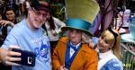 Su novia lo acompaña frecuentemente al parque | Joshua Sudock //Disney // AFP