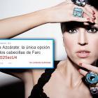 Alejandra Azcárate, comediante y actriz colombiana.