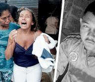 Familiares del joven lloraban ayer desconsolados por la trágica muerte de este joven. | AL DÍA