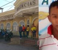 Con pronóstico reservado se encuentra Carlos Andrés Yepes Terraza, de 32 años, tras recibir un balazo en la nariz en el barrio La Alborada en Ciénaga.