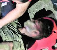 Esta persona, que no fue identificada por la Policía, fue golpeada por una turba, tras señalarlo de cometer un hurto | José Puente Sobrino