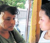 Lilibeth Guette fue golpeada en el rostro con un palo, mientras Stefani Rodríguez y su hermana también fueron agredidas.