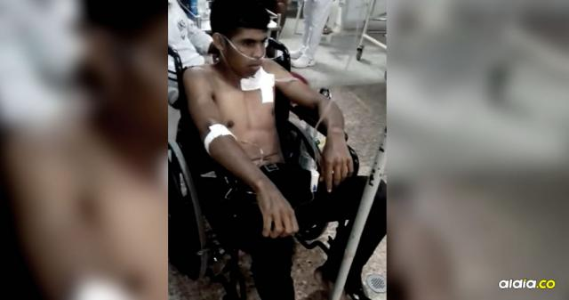 Ricardo Ávila fue remitido al quirófano para una operación y poder estabilizarlo | Cortesía
