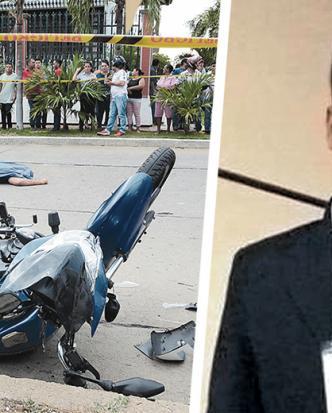 El joven tenía poco tiempo de haber comprado la motocicleta con la que se accidentó la tarde del jueves. | Archivo