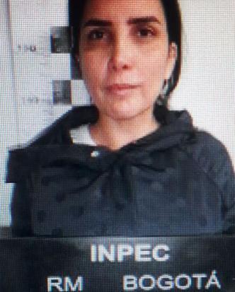 Reseña fotográfica del Inpec cuando Aida Merlano fue ingresada a la cárcel El Buen Pastor, de Bogotá.   Al Día