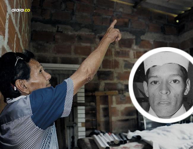 En el primer cuarto de la casa situada en la calle 12 No. 2 - 59, barrio Colinas del Sol, de Puerto Colombia, se colgó Mauricio Escorcia, de 23 años. | Luis Felipe De la Hoz
