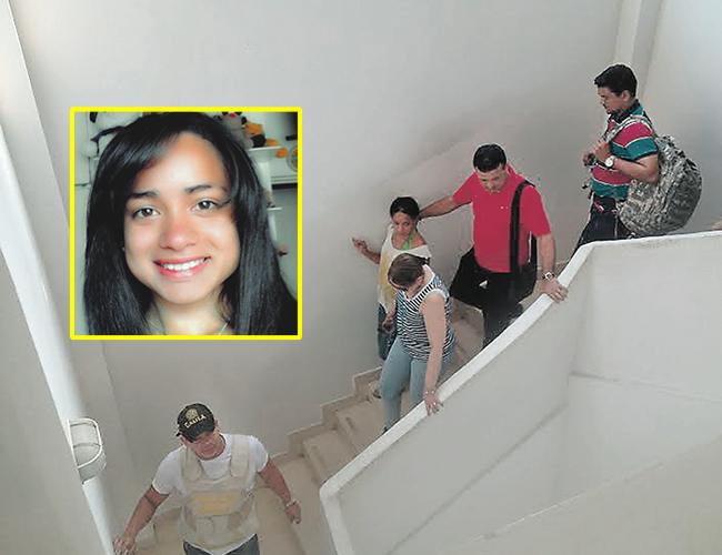 Alicia Gamero González no habló ante los medios y fue evacuada custodiada por el Gaula y sus familiares. | Foto: @chu_solano