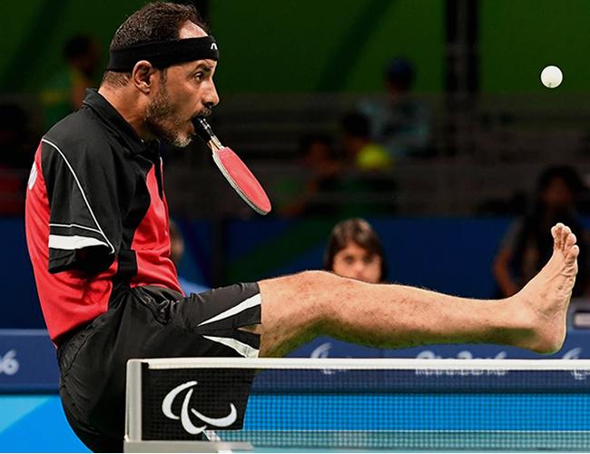 Ibrahim Hamadtou tiene 43 años y es la primera vez que participa en unos Juegos Olímpicos.