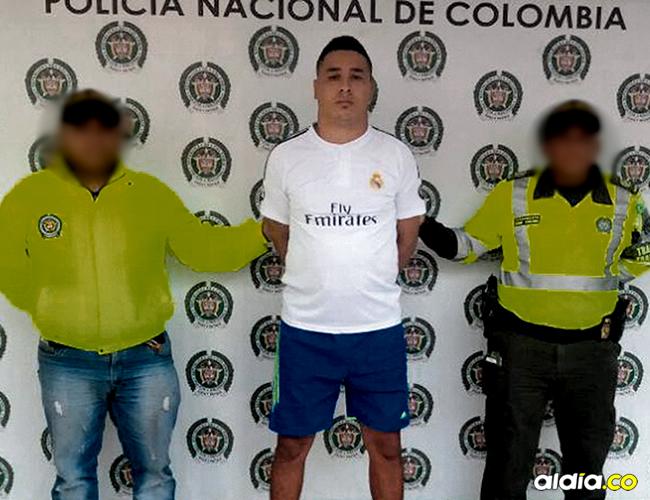 La Policía de Tránsito y Transporte logró la captura mediante orden judicial de Eduardo Vergara Polo, alias 'Eduardito', por hurto agravado y porte ilegal. | AL DÍA