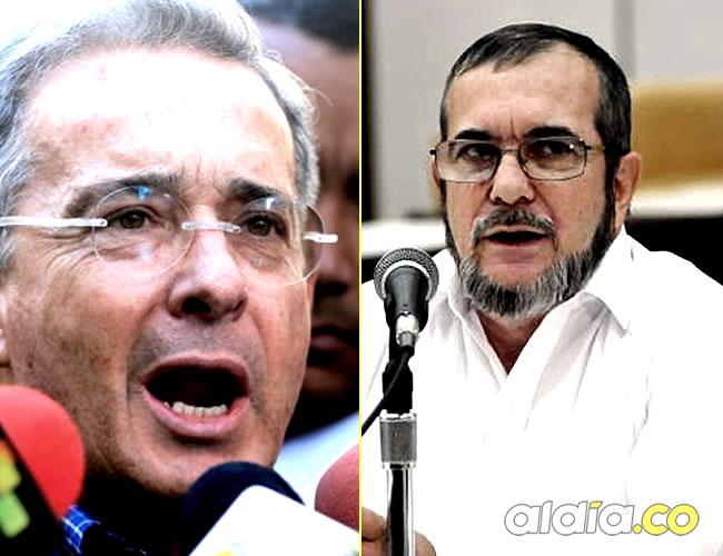 El máximo jefe de las Farc invita al diálogo al expresidente Álvaro Uribe   Foto: Al Día