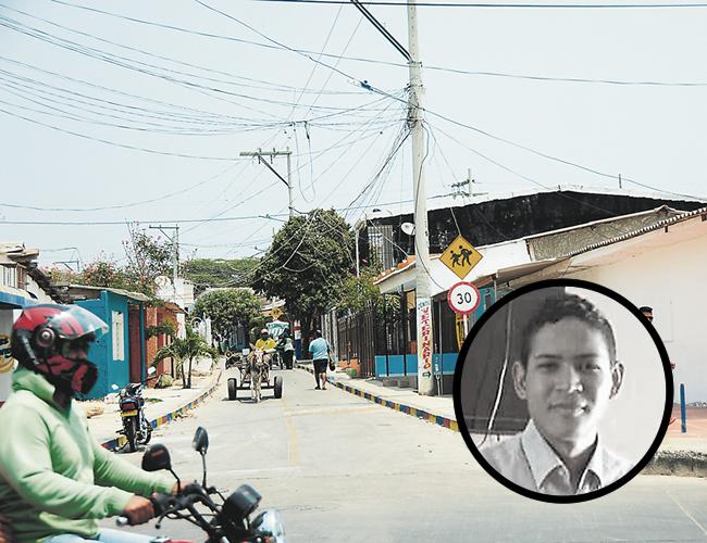 En este sector del barrio El Bosque se produjo el tiroteo. | Foto: Archivo