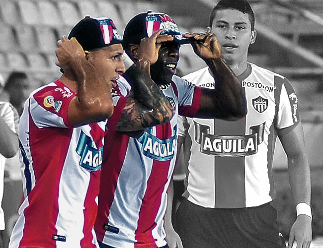 Los dos involucrados en el escándalo celebraron un gol burlándose de un conocido periodista deportivo | Foto: El Heraldo