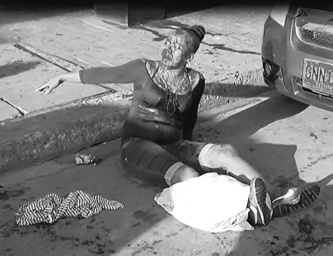 Beatriz Tejedor, de 30 años, fue herida de tres puñaladas en medio de una riña con una de sus compañeras. | Foto: AL DÍA