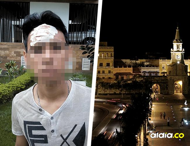 Luis Fernando Bueno, víctima. Los hechos de esta banda delictiva se concentra en el centro histórico de la ciudad.   AL DÍA