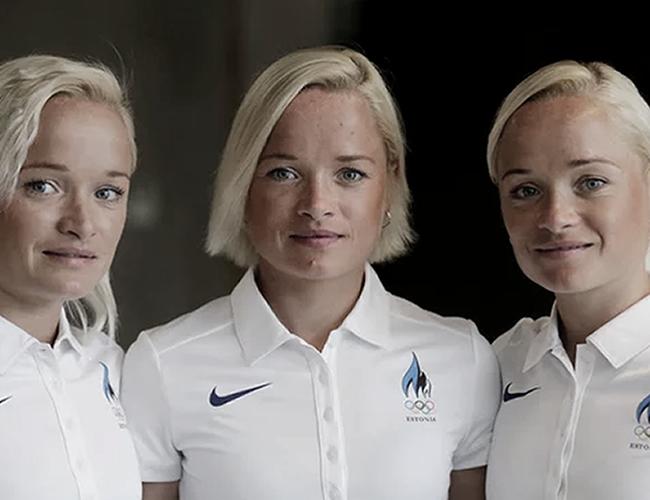 Leila, Liina y Lily Luik se preparan para participar en los Juegos Olímpicos Río 2016.   Foto: Reuters
