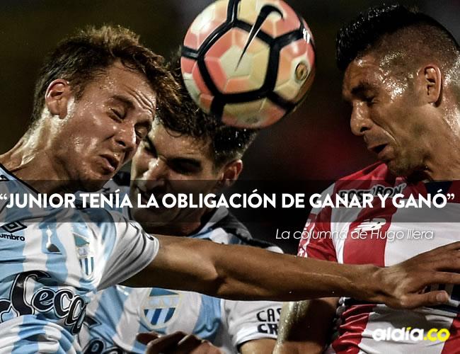Junior se llevó la ventaja del primer partido contra Atlético Tucumán   AFP