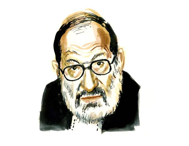 Umberto Eco es uno de los referentes literarios y académicos más importantes de la academia | Ilustración: Dan Williams
