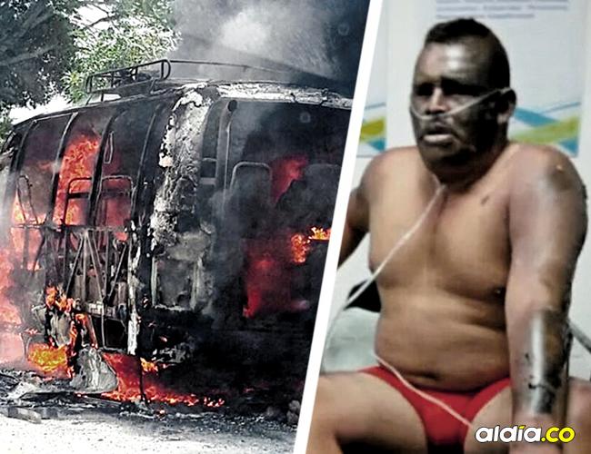 Una nueva víctima fatal dejó la explosión de la buseta que se desplazaba entre San Onofre y Sincelejo. |  AL DÍA