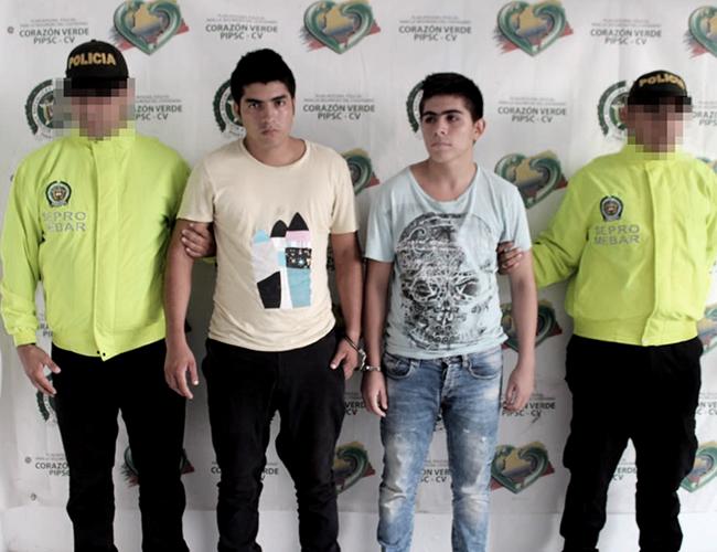 Los dos capturados son oriundos de Santander. | Foto: Archivo