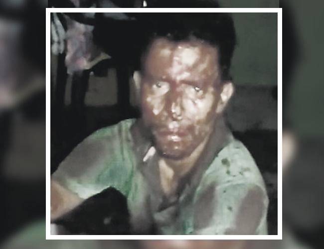 Jean Carlos Padilla Tejada, de 38 años, señalado de abusar a una niña de 3 años, en el barrio San Salvador. | WhatsApp