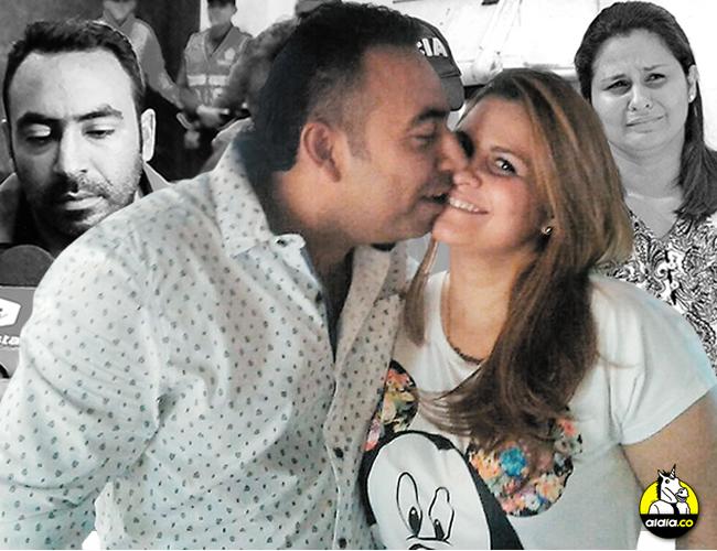 Esta foto habría sido captada durante el pasado cumpleaños de Beltrán. Queda en evidencia el romance entre ambos. | Foto: ALDÍA.CO