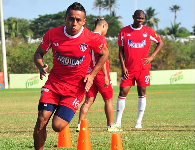 El atlético junior se prepara para su enfrentamiento ante el Deportivo Pasto. | Foto: Archivo