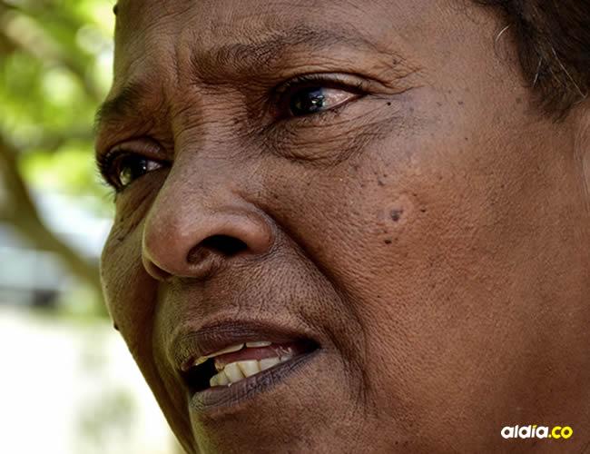 Yadira Prens, hermana de la víctima, presintió el momento en que mataron al Mello.