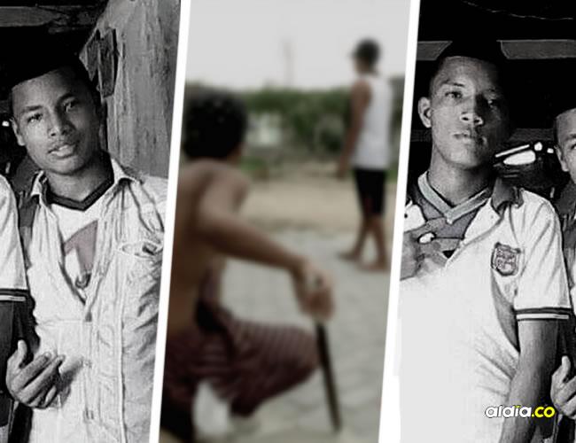 Jeison (izq) y Wilson (der)) fueron asesinados después de tratar de reclamarle a un grupo de pandilleros por querer robar a su primo   Al Día
