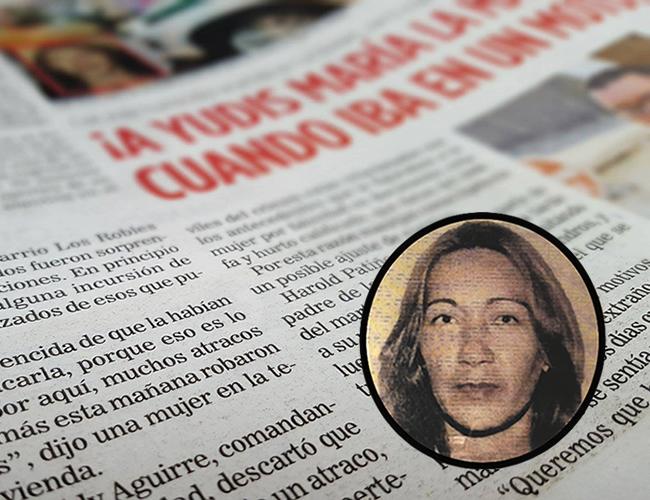 Yudis María Patiño fue asesinada la noche del martes en el barrio Los Robles de Soledad. | Foto: Al Dia